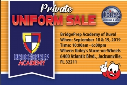 Ibiley Store On Wheels Uniform Sale