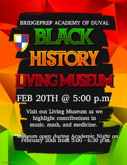 Black History Month - Living Museum